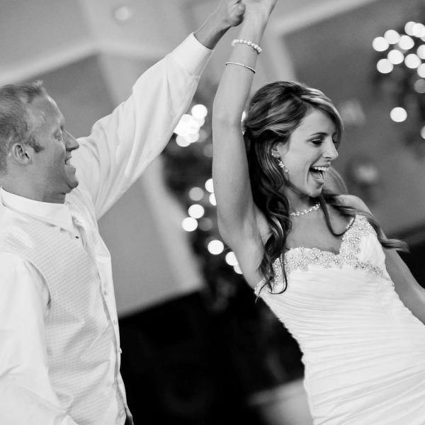 Moderne Hochzeitsparty
