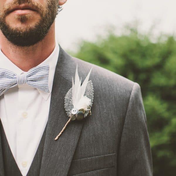 Bräutigam Anzug Hochzeiterie