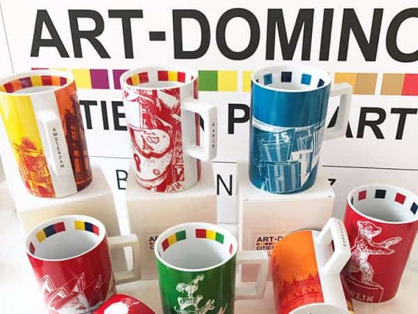 ART-DOMINO® CITIES IN POP ART BY SABINE WELZ